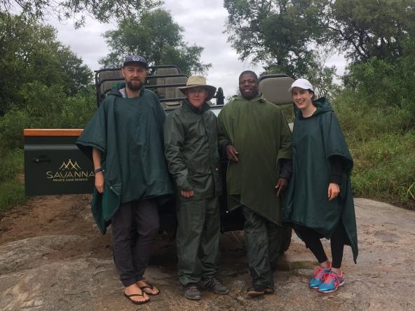Savanna Lodge Safari Sabi sands with the team
