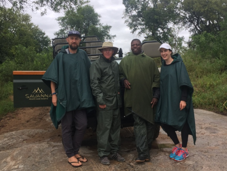 Safari Sabi sands with the team