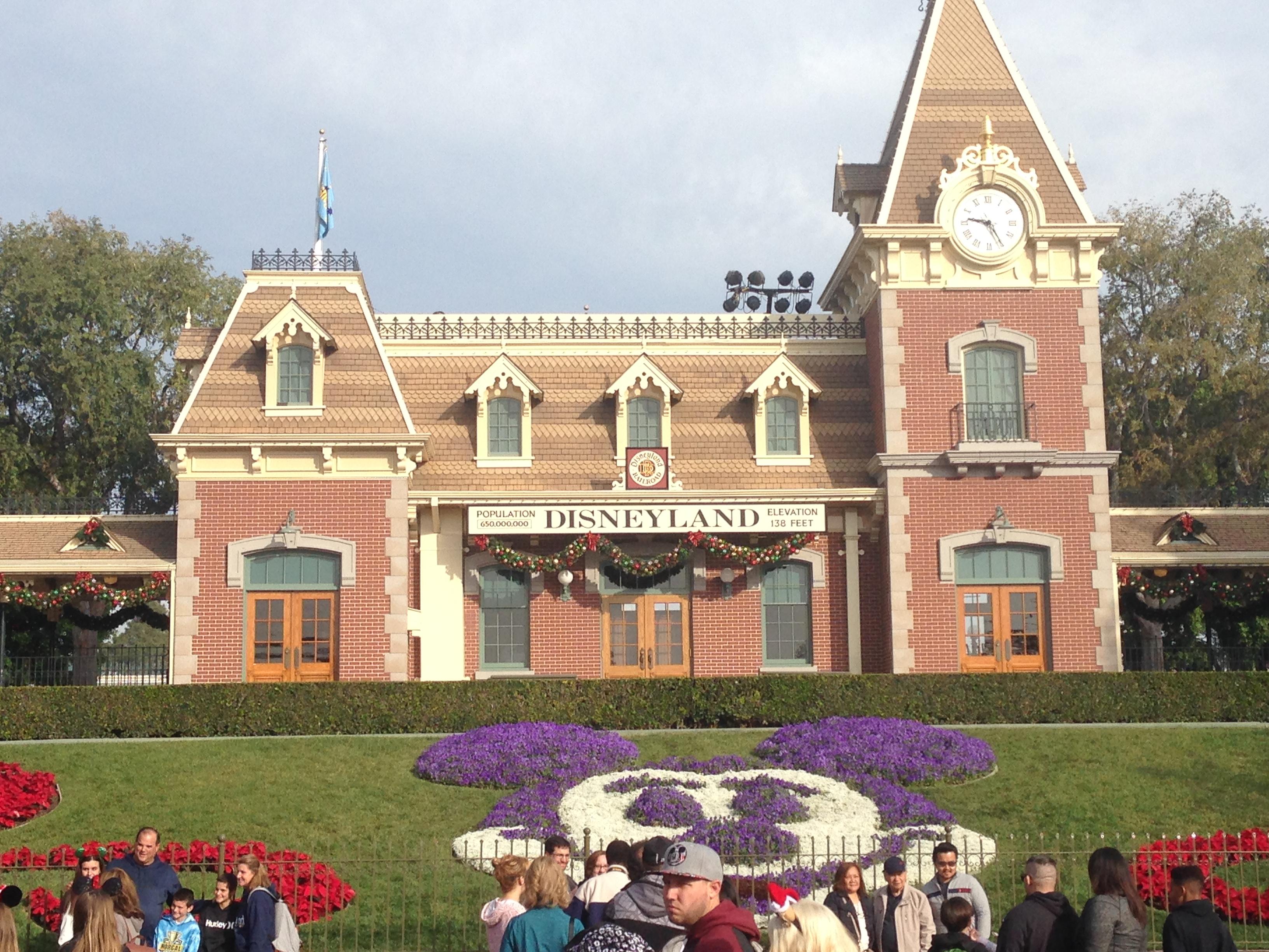 Entrance at Disney