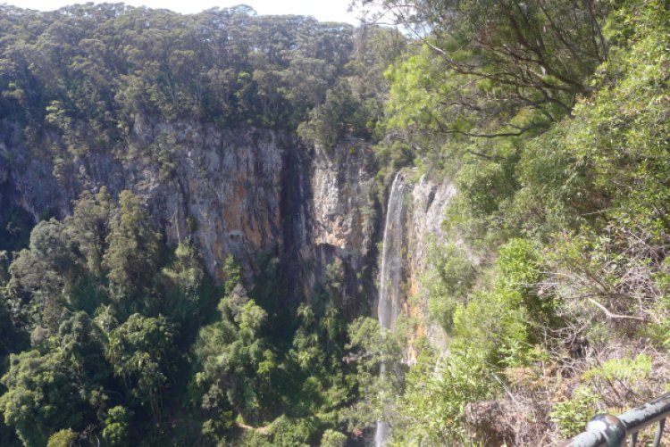 The Falls at Purling Brook Falls