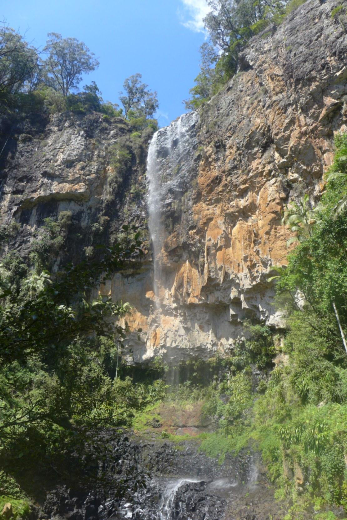 Bottom of Purling brook falls